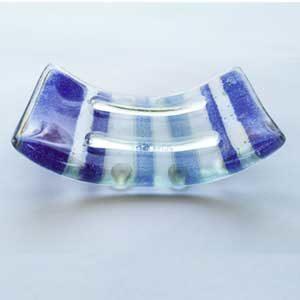 Cobalt Blue Soap Dish