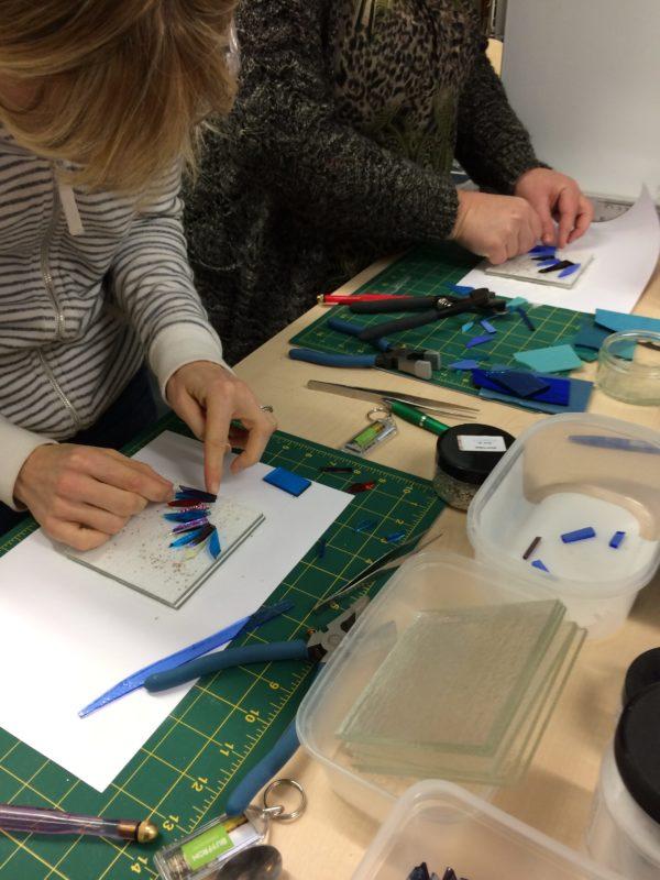 Coaster and Tile Fused Glass Workshop 1