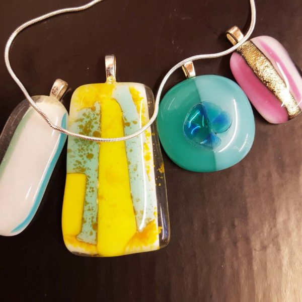 make your own glass jewellery