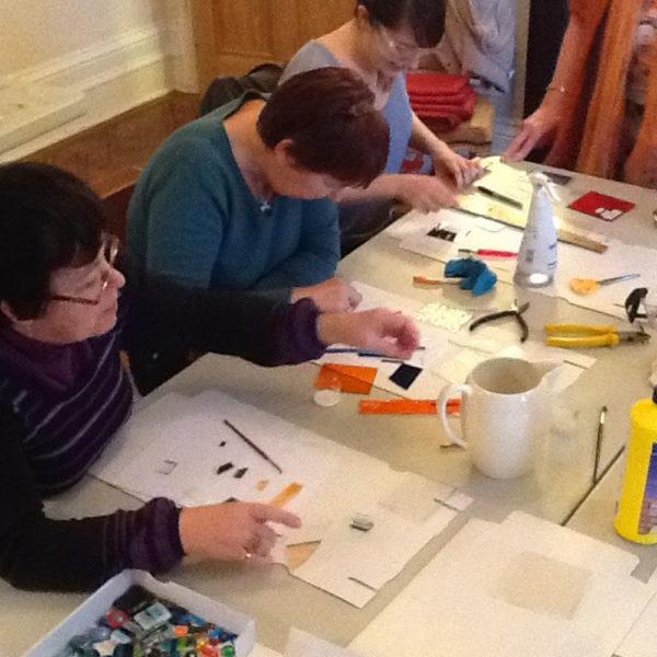 Fused Glass Jewellery Workshop 2