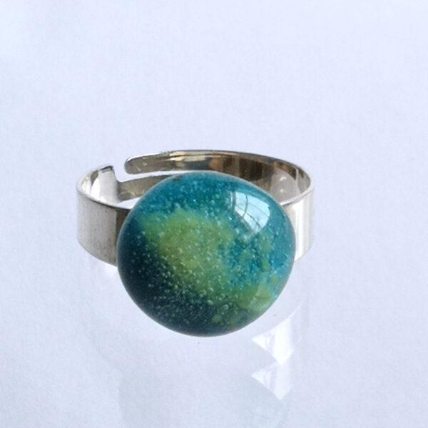 Egyptian blue ring