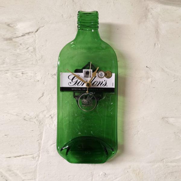 Gordons gin bottle clock side view