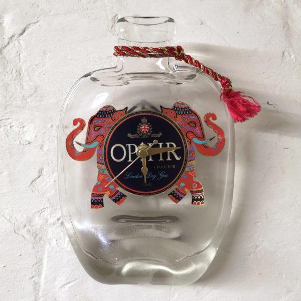 Opihr Gin Bottle Clock
